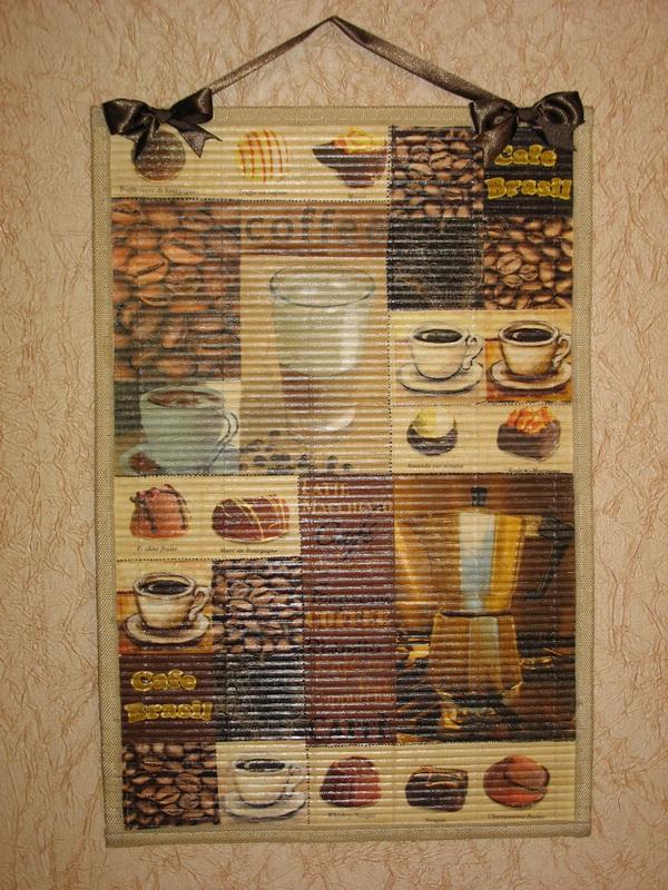 Панно на стену для кухни своими руками фото 3